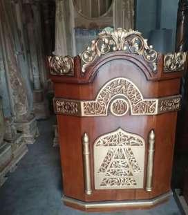 Mimbar podium masjid berkualitas
