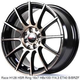 Velg Model Race Ring 16 Hole 4x100/114,3