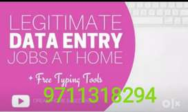 If you need and type of home based data entry works call me