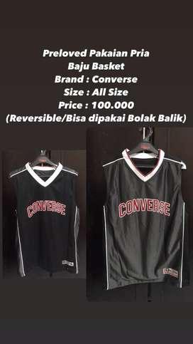 Baju Basket Converse Preloved