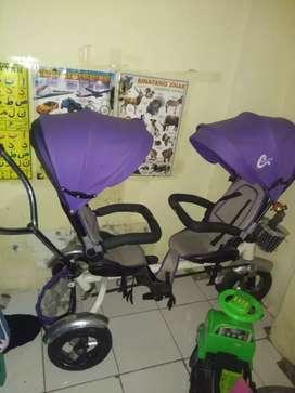 sepeda anak 2 dudukan.