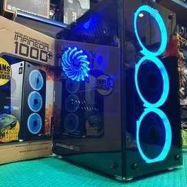 PC Gaming AMD Ryzen 3 2200G Ram 8gb HDD 1TB
