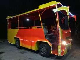 kereta wisata bus tayo odong 2 sepur mini bebas Custum ADD