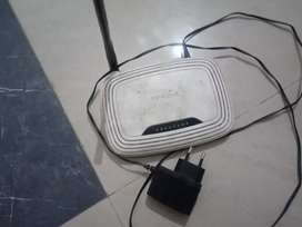 WiFi router dual band single antina tp link router