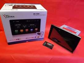 Head unit AZUKA AK-1000 layar 10 inch