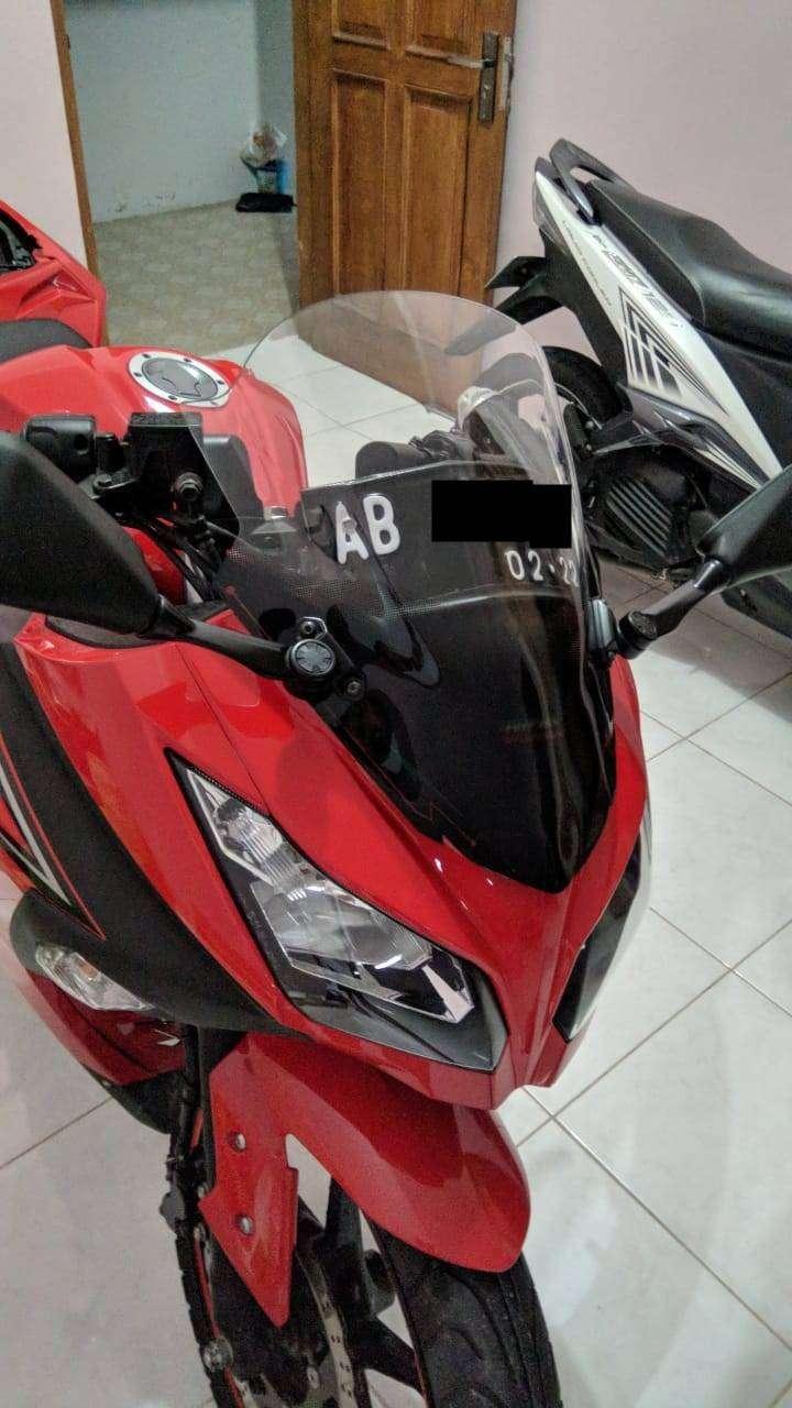 Ninja 250 Fi 2017 Merah KM 2000 an langsung bisa di pakai seperti baru 0