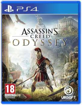 Seal Pack Brand New PS 4 Assassins Creed: Odyssey No Exchange only Sal