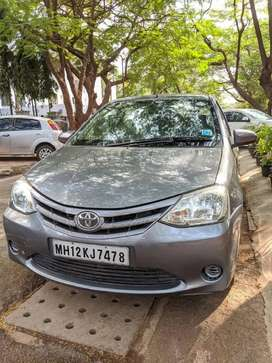 Toyota Etios G 2014 In mint condition, with all service records
