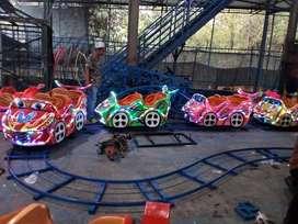 Mini coaster kereta mini panggung rel kacamata RAA