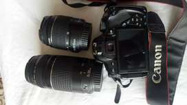 Canon 650D with 18-55mm & 75-300mm