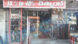 rented shop full stok and furniture for sale