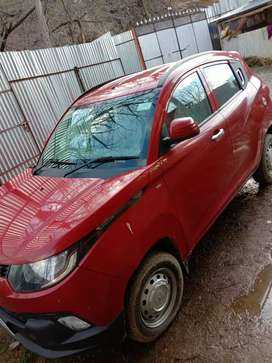 KUV 100  Fresh,power steering ,color red ,semi loded,