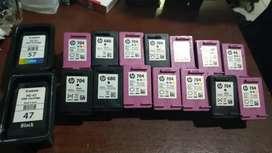 Di tampung sebanyak banyak nya tinta printer kosongan