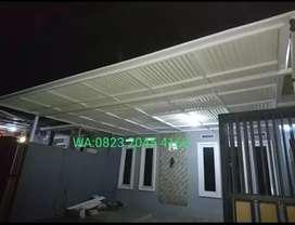 Kanopi atap alderon RS uvpc anti panas rangka hollow 184$#