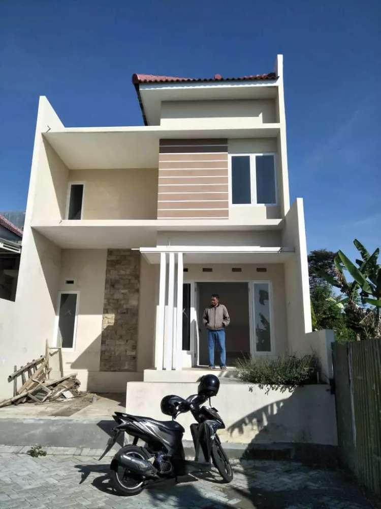 rumah dua lantai super murah di perumahan edelweiss land kota batu