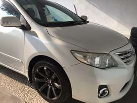 Toyota Corolla Altis Pearl White, Km Rendah