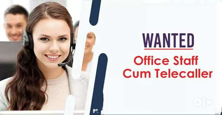Receptionist cum TeleCaller 0