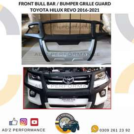 Front Bull Bar / Bumper Grille Guard Toyota Hilux Revo 2016-2021