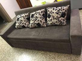 5 seater Sofa bed table set