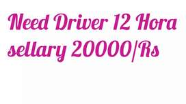 Need Part time Driver cars