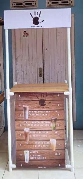 Booth murah stand booth usaha booth jualan minuman booth lipat