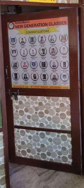 Wooden Door with Acrelic sheets