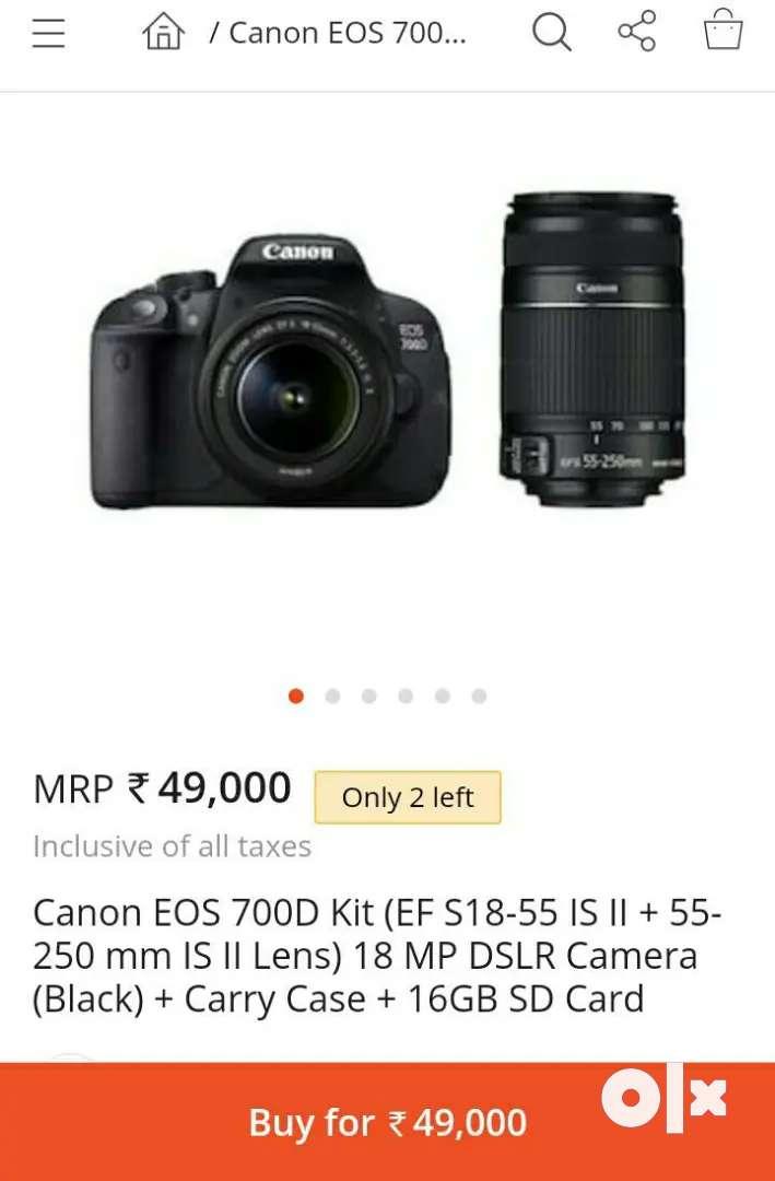 Canon 700d 0