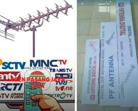 Jasa pemasangan sinyal antena tv lokal citeureup