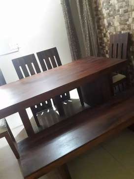 Sheesham wood dining table (Large) 6 seater
