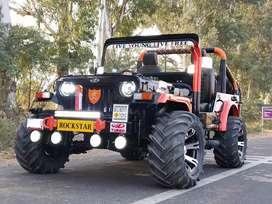 New modified hunter jeep