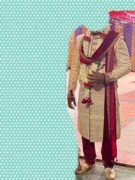 Manayavar sherwani size -- xl