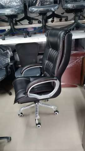 New Leatherette Chair Starting at Rs 5900 only with 1 year warranty.