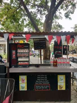 Semi Booth Container Dijual