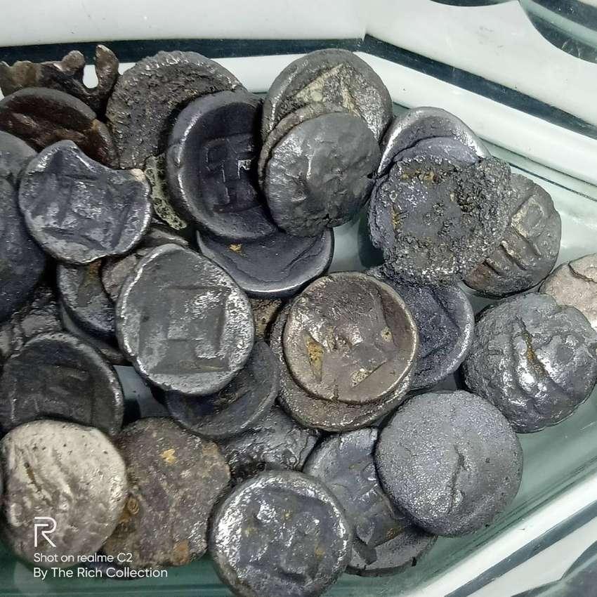 Ancient Massa Silver COIN Majapahit Kingdom Java Indonesia 10–11 Cent. 0