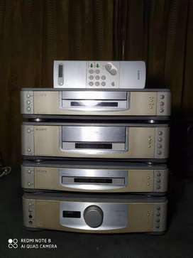 Tape deck, CD player, Tuner Sony Placido