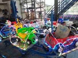 RST usaha wahana odong odong kereta panggung pancingan rumah balon IIW
