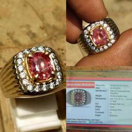 RARE! Natural Padparadscha Sapphire SriLanka Heat Only Clean