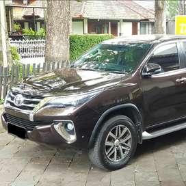 Jual Toyota Fortuner VRZ 2017 Coklat Tua Metalik
