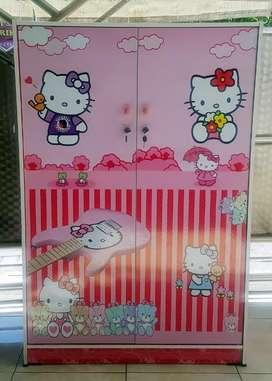 Lemari Pakaian Anak 2 Pintu MH BL 1110 HK