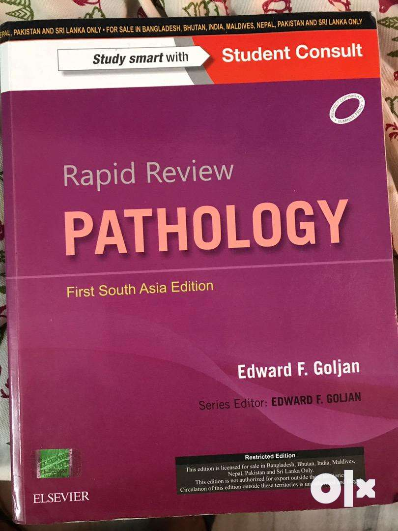 Rapid review Pathology Goljan First South Asian Edition 0