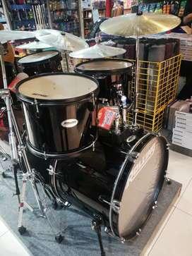 Rolling Drum Set 5Pcs jb 1226Bk Black Kredit Pake Ktp Bunga NolPersen