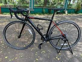 Roadbike Cannondale Optimo 105 minim pemakaian