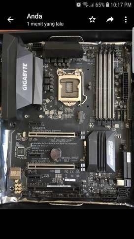 Gigabyte Z270X Ultra Gaming + i5 6600 3.3Ghz