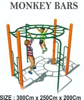 Monkey Bars Mainan Outdoor - Playground Seat