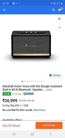 Marshall acton 2 voice