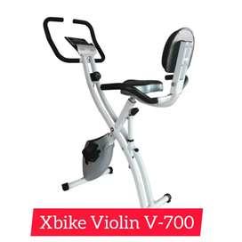 sepeda statis magnetik xbike  V-126 alat fitnes olahraga