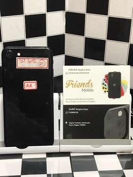 I phone 7 32 gb jett black (fixx price)