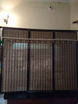 Bamboo roll up blind Chik window curtain