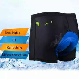 Celana Dalam Sepeda Busa Gel 3D Breathable Cycling Underwear Padding