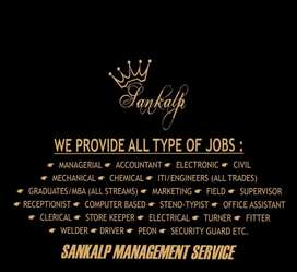 JOBS FOR UNEMPLOYED PEOPLE WITH GOOD SALARY AND PREFERED LOCATION .